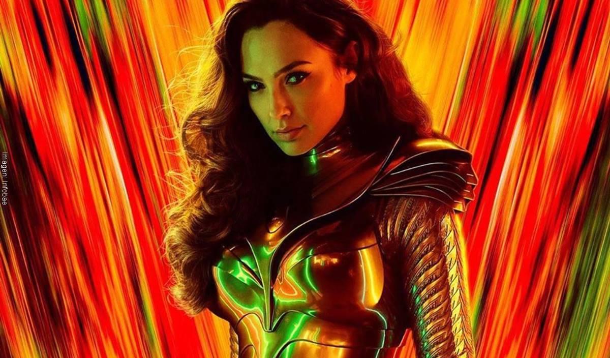 Poster de  La Mujer Maravilla 1984 la película