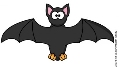 Foto de un dibujado animado de murciélago que ilustra lo que es soñar con murciélagos