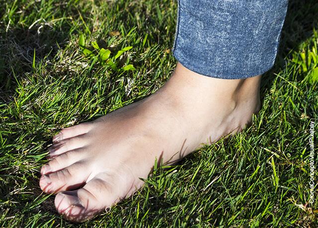 Foto de unos pies descalzos