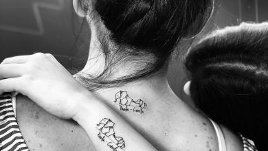Tatuajes de hijos para hacerse con sus padres