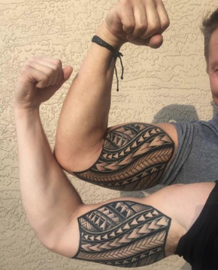 Foto de un tatuaje en el brazo