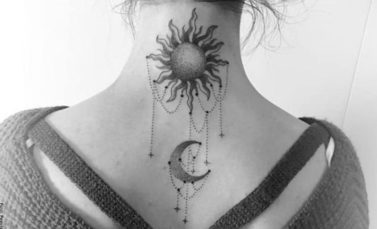 Tatuajes de sol y luna: diseños que se verán hermosos en tu piel