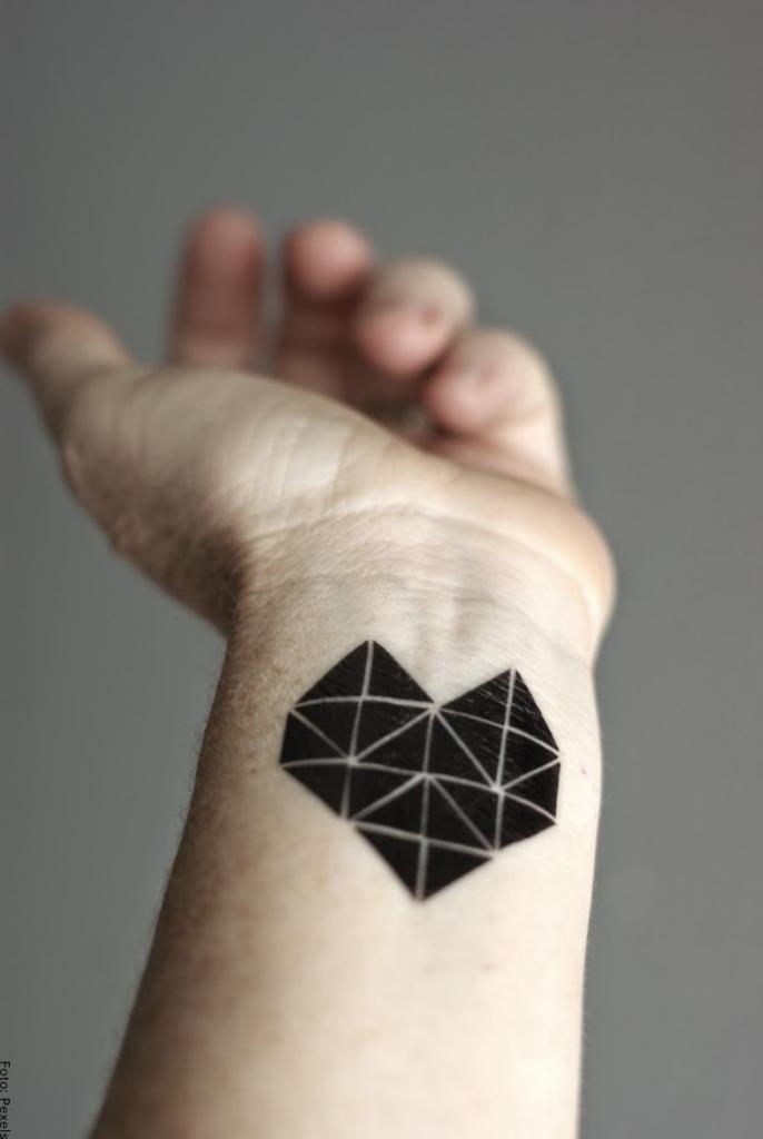Foto de triángulos negros