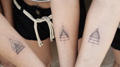 Tatuajes de triángulos y sus poderosos significados