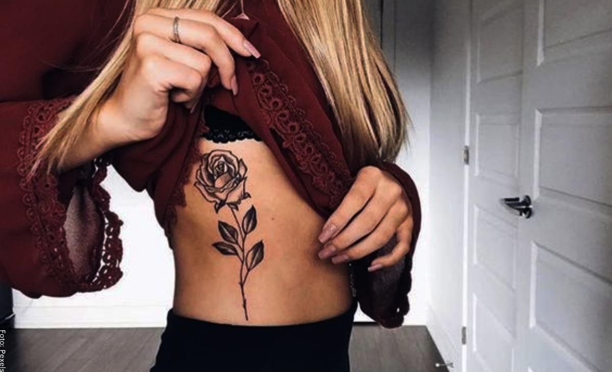 Tatuajes en las costillas que te harán ver más sexy
