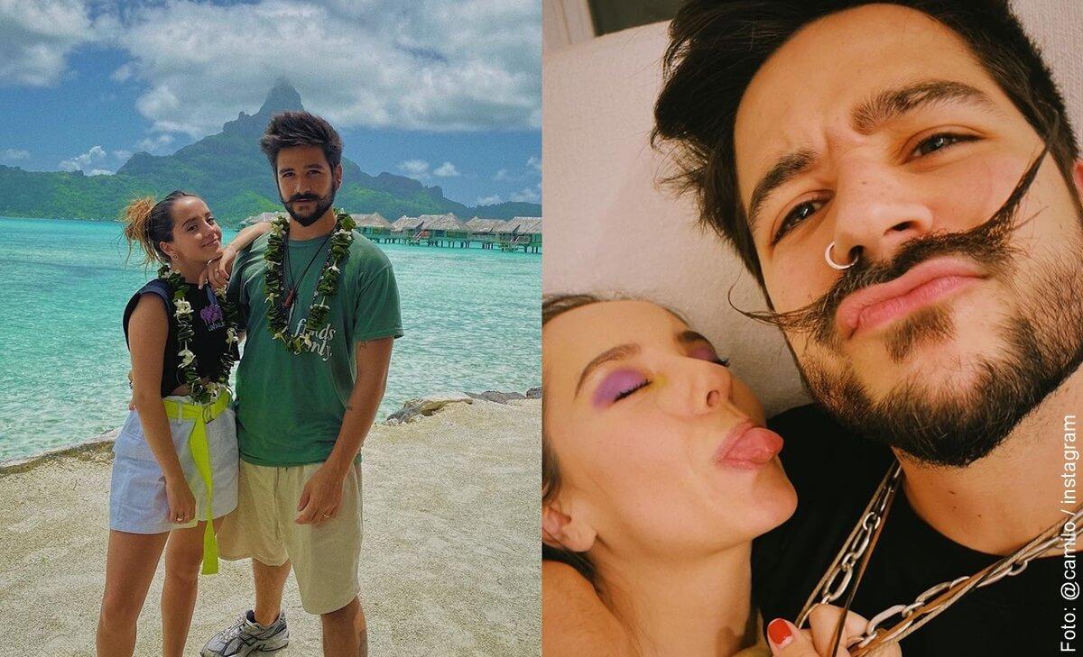 Evaluna Montaner y Camilo celebran su primer aniversario como esposos y así lo celebraron