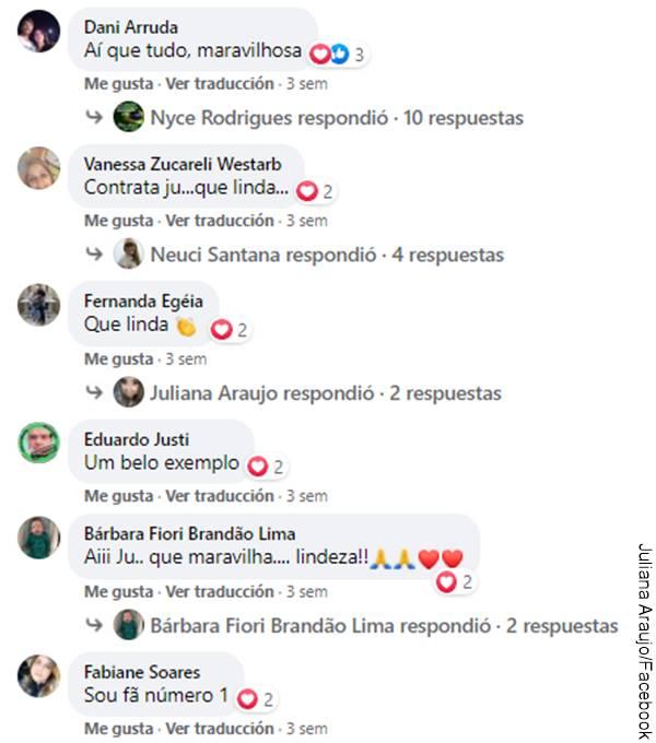 Print de comentarios en Facebook