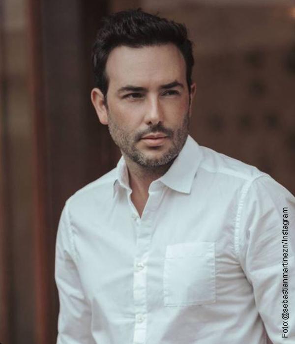 Foto del actor Sebastián Martínez