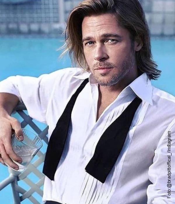 Foto del actor estadounidense Brad Pitt