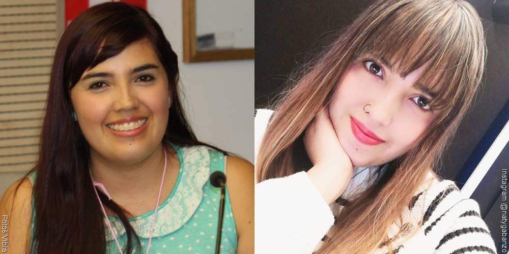 Foto de Nataly Gabanzo, antes y después