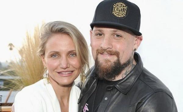 Foto de Cameron Díaz y su esposo Benji Madden
