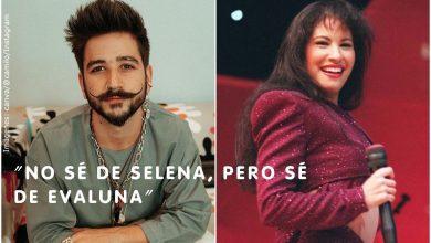 Camilo confesó que no sabe quién fue Selena Quintanilla
