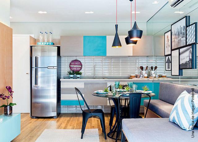 Foto de la decoración de una cocina