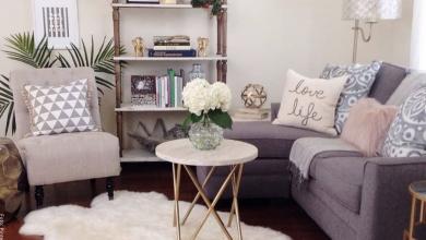 Cómo decorar una sala pequeña con hermosos diseños
