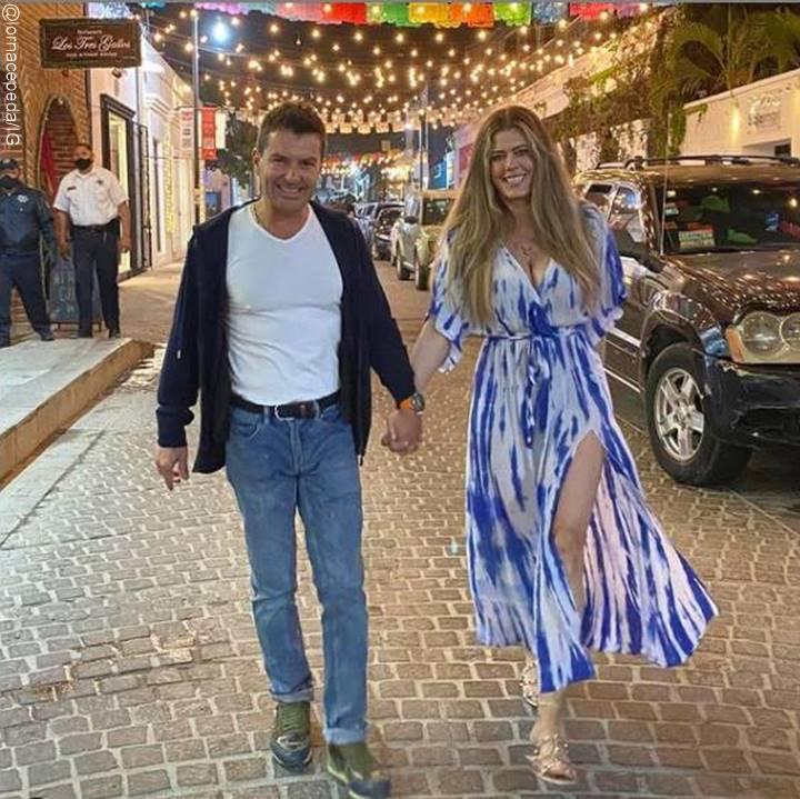 Foto de Lorna Paz y su novio