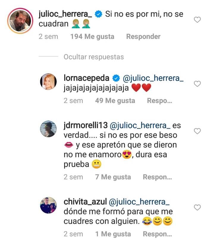 Print de Instagram de Lorna Cepeda