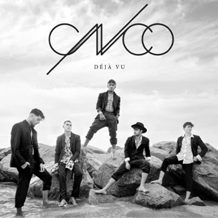 Foto de la caratula del nuevo álbum de CNCO Déjà Vu
