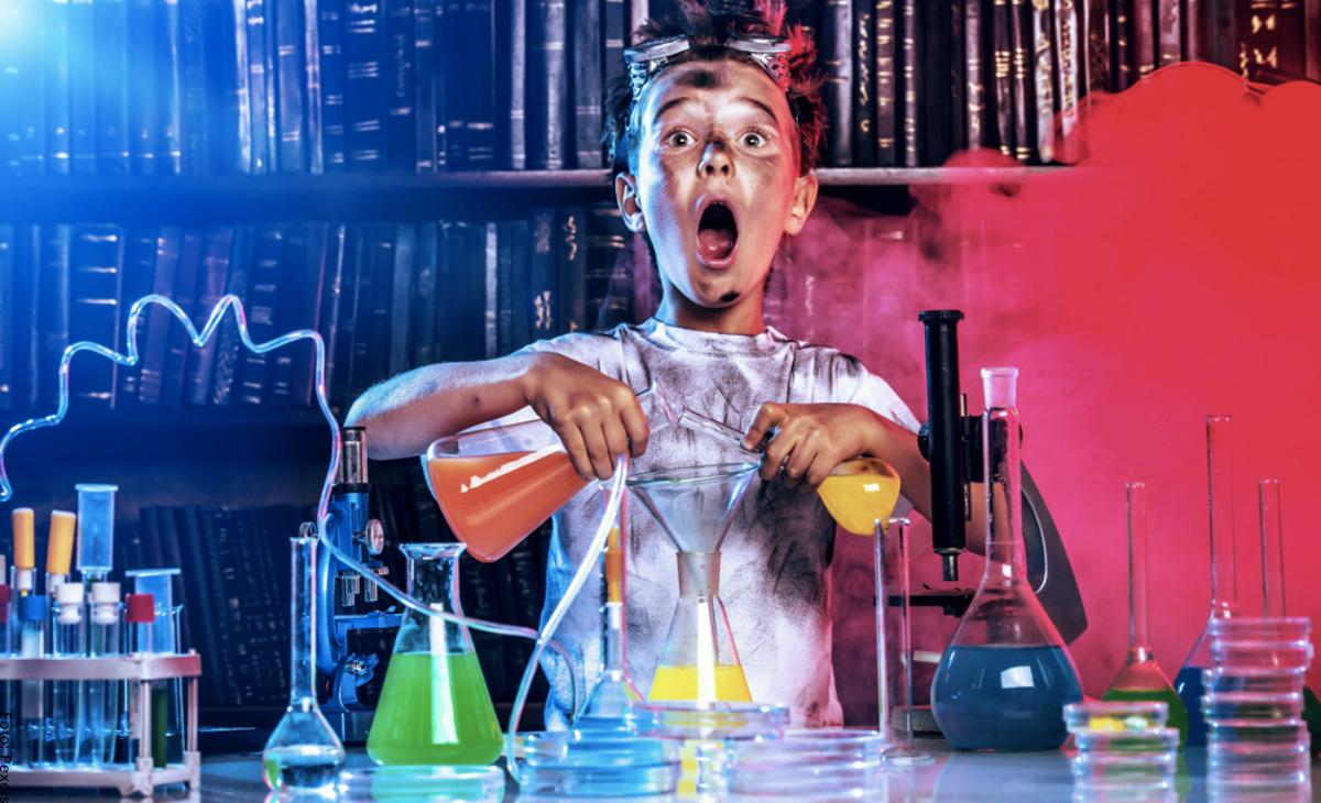 Experimentos fáciles para niños con los que se divertirán