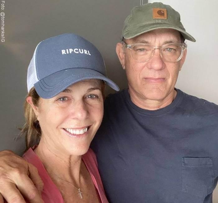 Foto de Rita Wilson y Tom Hanks