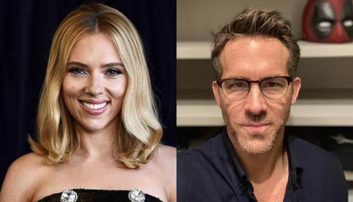 Foto de Scarlett Johansson y Ryan Reynolds