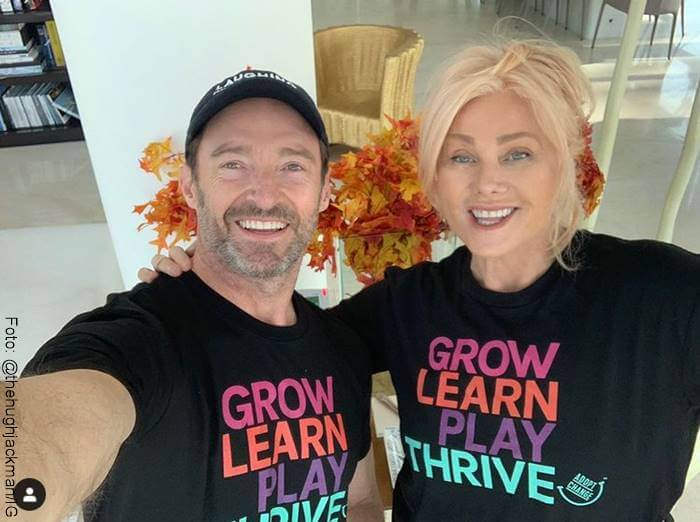 Foto de Deborra-Lee Furness y Hugh Jackman