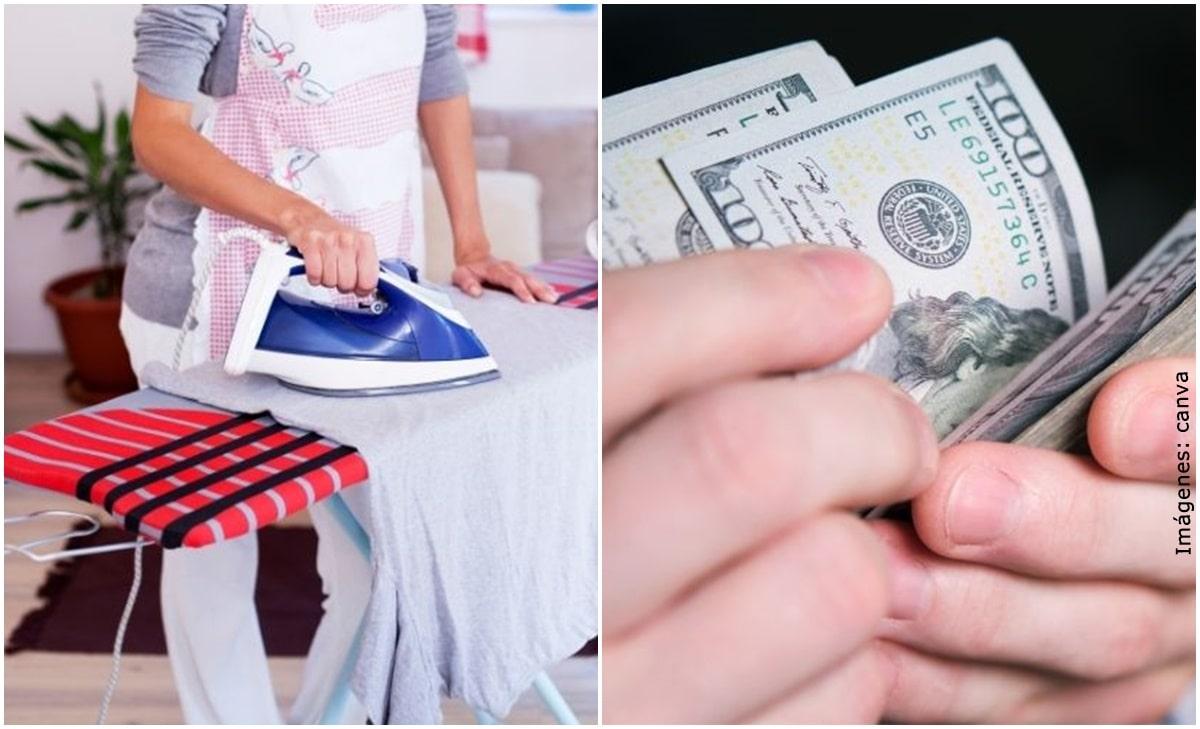Hombre deberá pagarle 8 mil dólares a su ex por tareas domésticas