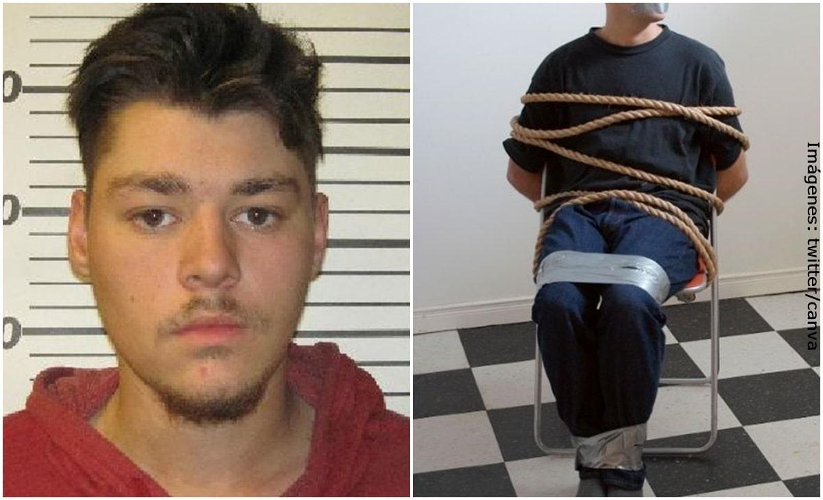Joven fingió su secuestro para evitar ir a trabajar y acabó tras las rejas