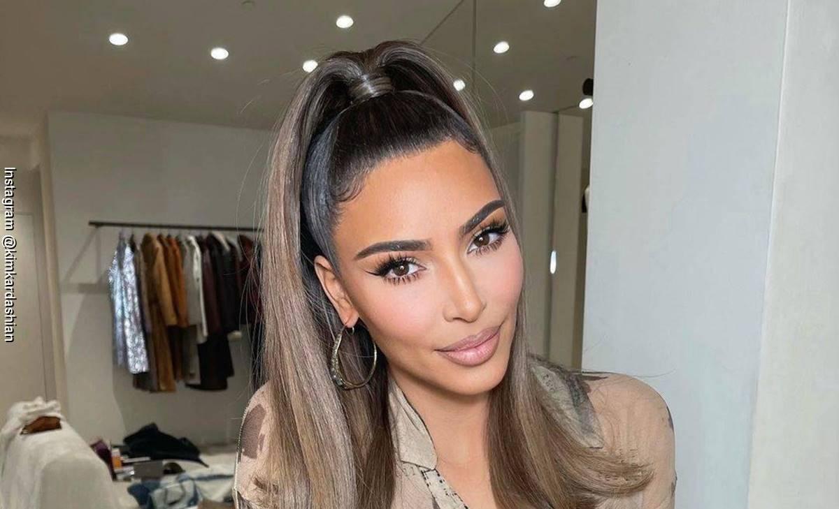 Kim Kardashian no aguantó que criticarán la pintura de su hija