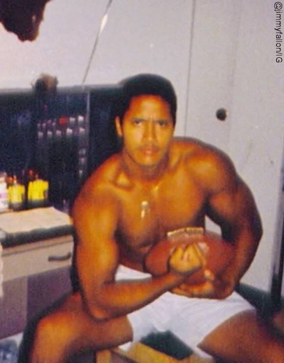 Foto de Dwayne Johnson a los 15 años