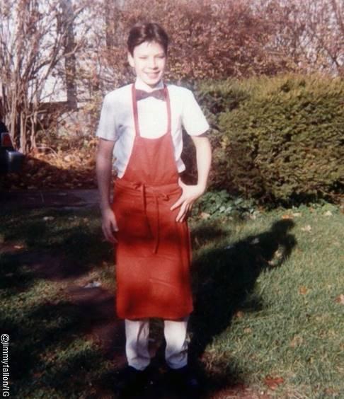 Foto de Jimmy Fallon a los 15 años