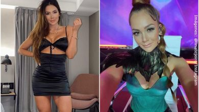 ¡Lina Tejeiro deleitó a sus fanáticos con sensual pole dance!