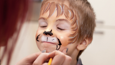 Maquillaje de halloween para niños, ¡ideas para inspirarte!