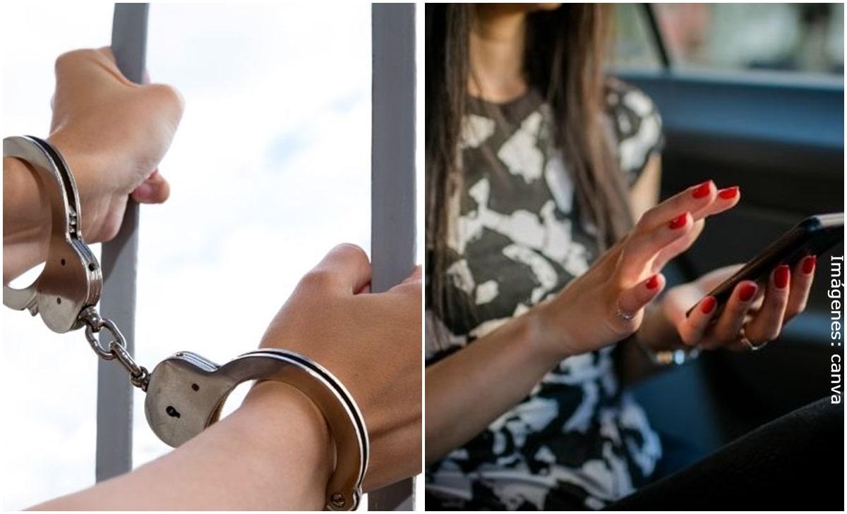 Mujer fue a la cárcel por difundir chats de su esposo con sus amantes