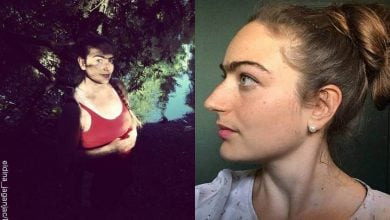 Mujer presume bigote y cejas sin depilar: La Frida Kahlo danesa