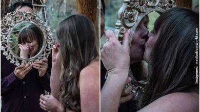 Mujer se casó con ella misma tras terminar con su novio
