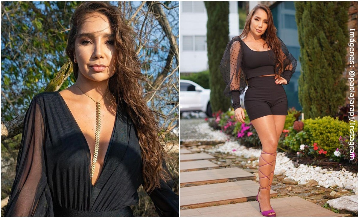 ¡Paola Jara presumió su cintura de avispa en A otro nivel!