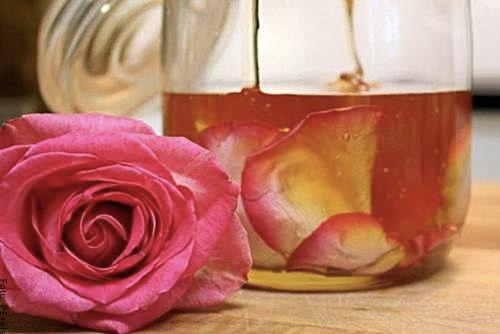 Foto de miel de rosas