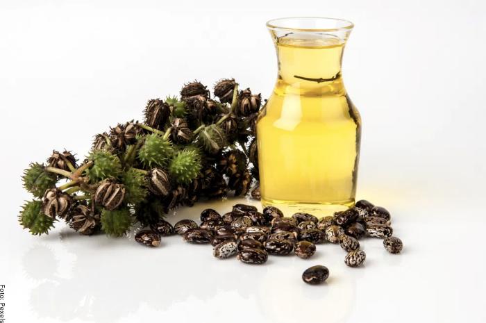 Foto del aceite de ricino