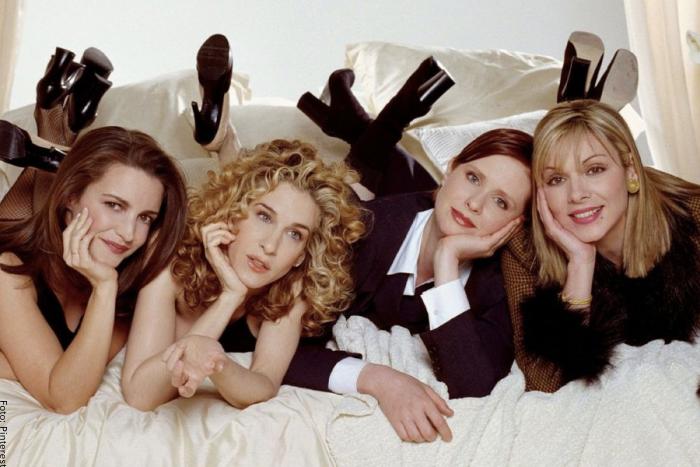 Foto de las cuatro protagonistas de Sex and the City