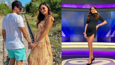 Valerie Domínguez en bikini le dedicó tiernas palabras a su novio