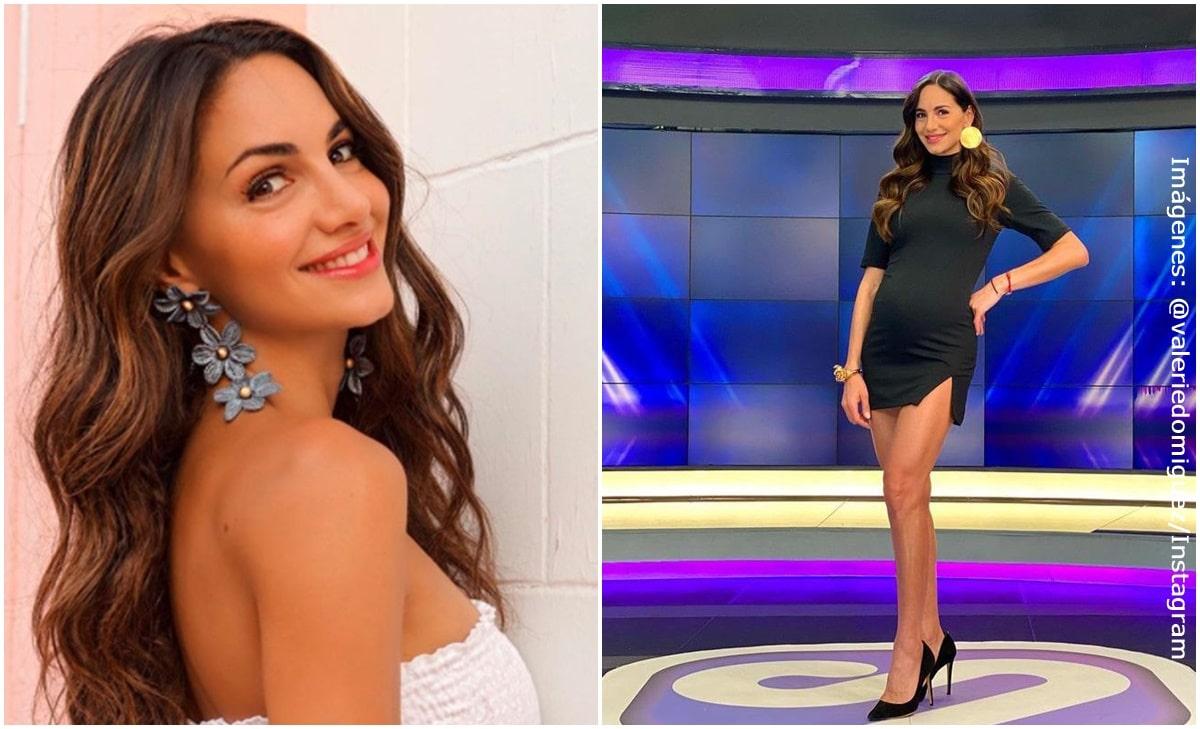 Valerie Domínguez reveló detalles de cómo ha sido su embarazo