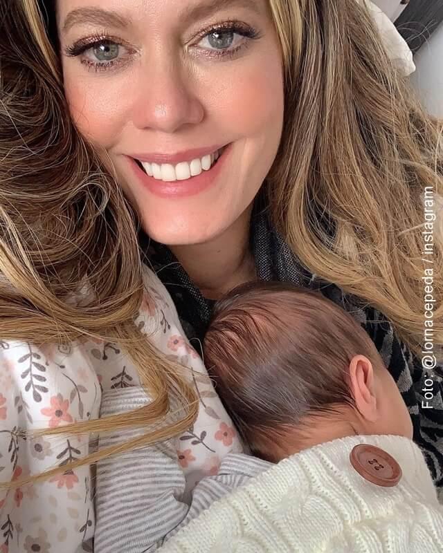 foto de lorna cepeda con su nieta