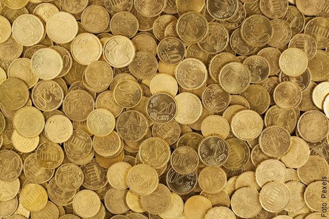 foto que ilustra monedas