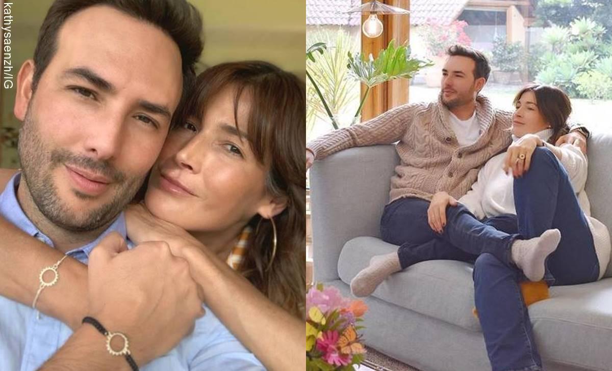 """A Kathy Sáenz y Sebastián Martínez les dicen """"almas gemelas"""""""