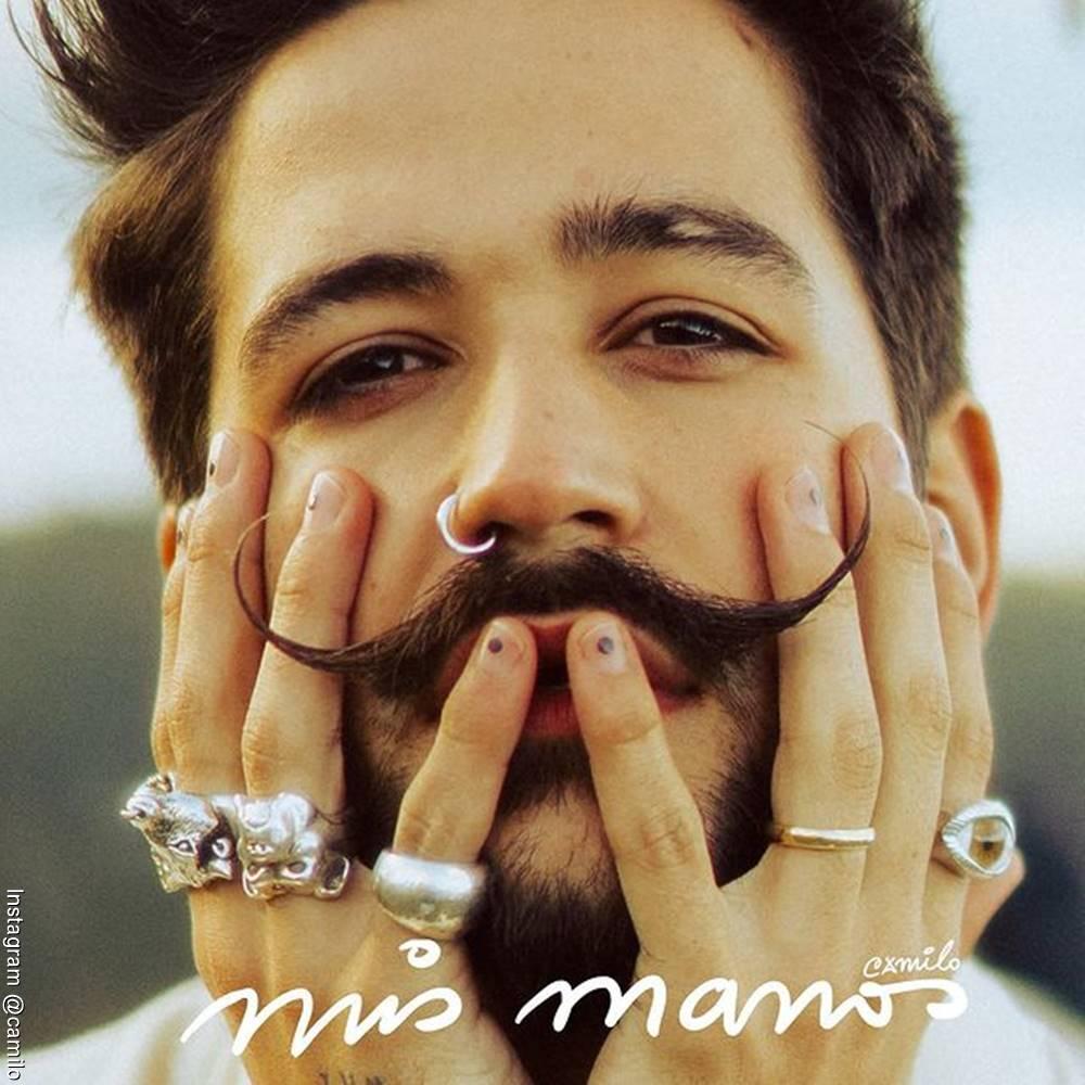 Portada del nuevo álbum de Camilo llamado Mis Manos
