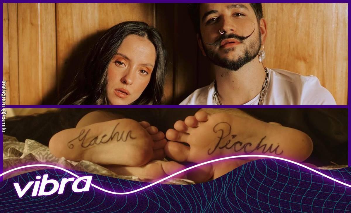 Camilo y Evaluna Montaner cantan juntos Machu Picchu