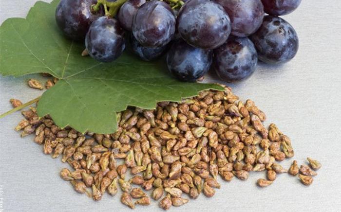 Foto de semillas de uvas