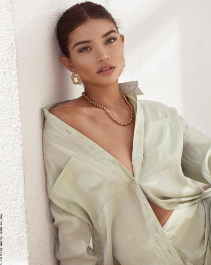 Foto de la modelo Daniela López