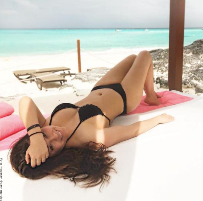 Foto de Danna García en bikini