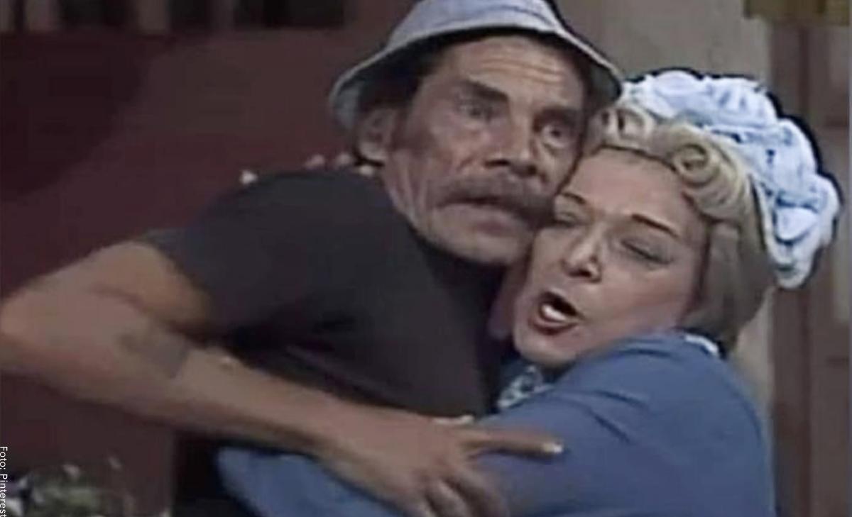 """En redes piden cancelar a """"Doña Clotilde"""" por acosar a """"Don Ramón"""""""